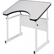 Adjustable Wheelchair Accessible Drafting Table