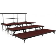 Seated Band Riser Add-On Set, Carpeted (48