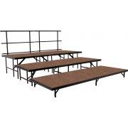 Seated Choir Riser Add-On Set, Hardboard (36