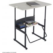 "Alphabetter Sit/Stand Desk - Standard Top, 36""x24"""