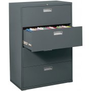 """600 Series Lateral File Cabinet - 4 Drawer, 36""""W"""
