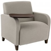 Siena Oversized Guest Chair with Swivel Tablet