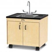 Clean Hands Helper Portable Sink - Stainless Steel Sink (26