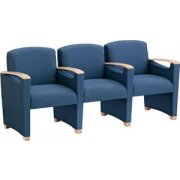 Somerset Seating - Center Arms - Grade 3 (3 Seater)