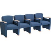 Somerset Seating - Center Arms (4 Seater)