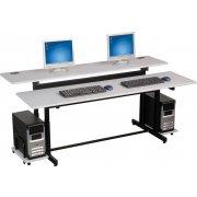Split-Level Computer Table