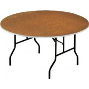 Plywood Round Banquet Table (48