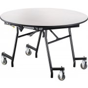 "Easy-Fold Cafeteria Table - Round, (48"")"