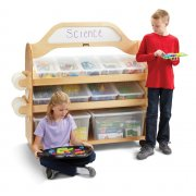Mobile STEAM Classroom Storage Cart