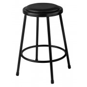 NPS Padded Metal Lab Stool (24