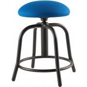 Designer Lab Stool with Padded Seat