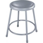 NPS Padded Metal Lab Stool (18
