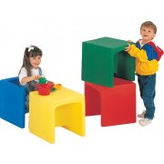 Preschool Cube Chairs - Set of 4