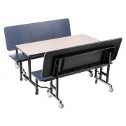 ToGo Mobile Cafeteria Booth Set - MDF Core (60x24