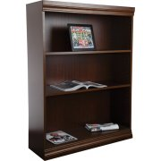 Wood Veneer Bookcase Excalibur Shelves (3'Wx5'H)