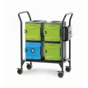 Tech Tub2 Modular Charging Cart with UV Tub – 18 devices