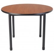 "Dura Heavy-Duty Adjustable Round Classroom Table (36"" dia.)"