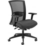Vion Mid-Back Weight-Sensing Task Chair with Lumbar Pad