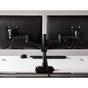 Dual-Monitor Arm 180 Degree