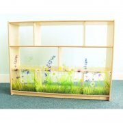 Nature View Acrylic Back Cabinet (36