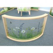 Nature View Curved Divider Panel