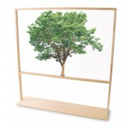 Nature View Floor Standing Partition (48
