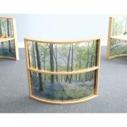 Nature View Curved Divider Panel (36