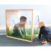 Nature View Playhouse Cube With Floor Mat Set
