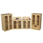 My Cottage Wooden Play Kitchen Set - 4 Piece