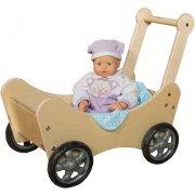 Wooden Baby Doll Stroller