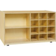 Double-Sided Classroom Cubby Storage