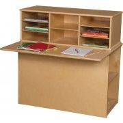 Wood Designs Preschool Writing Center - Single Sided