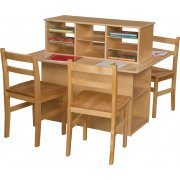 Wood Designs Preschool Writing Center - Double Sided