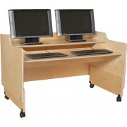 Mobile Classroom Computer Desk (48