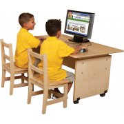 Adjustable Height Classroom Computer Table (48