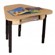 "Synergy Adjustable Collaborative Classroom Desk (24x30"")"