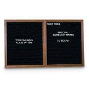 Enclosed Letter Board - 2 Door (5'x3')