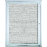 Weatherproof  Enclosed Illuminated Vinyl Board 1 Door (2'x3')