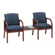 Weston 2 Seats with Center Table - Grd 3 Fabric