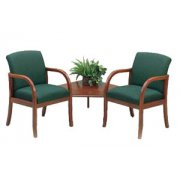 Weston 2 Seats with  Corner Table - Grd 3 Fabric