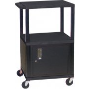 Tuffy Cart with Cabinet (42