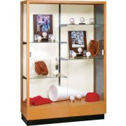 Heritage Trophy Cabinet in Oak (48
