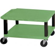Open Shelf Colored Tuffy Cart (16