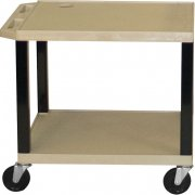 Open Shelf Colored Tuffy Cart (24.5