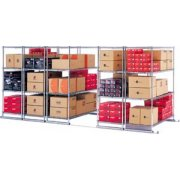 5 Section Sliding Shelf System (177x38
