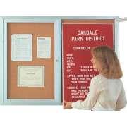 Aluminum Frame Indoor Directory (2 Door 4'x3')