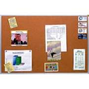 Premium Alum. Frame Cork Board (6'x4')