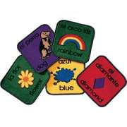 Bilingual Carpet Squares Set of 18