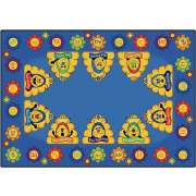 Busy Bee ABC Rug (5'10
