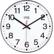"Prosaic Classroom Wall Clock (12"")"